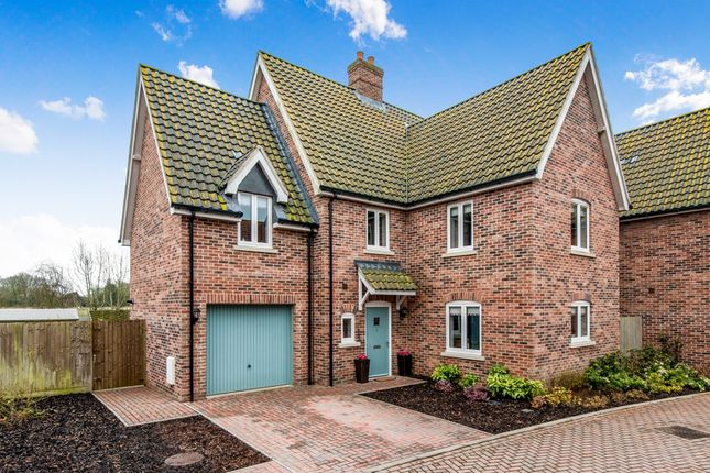 Thumbnail Detached house for sale in Carpenters Yard, Fressingfield, Eye