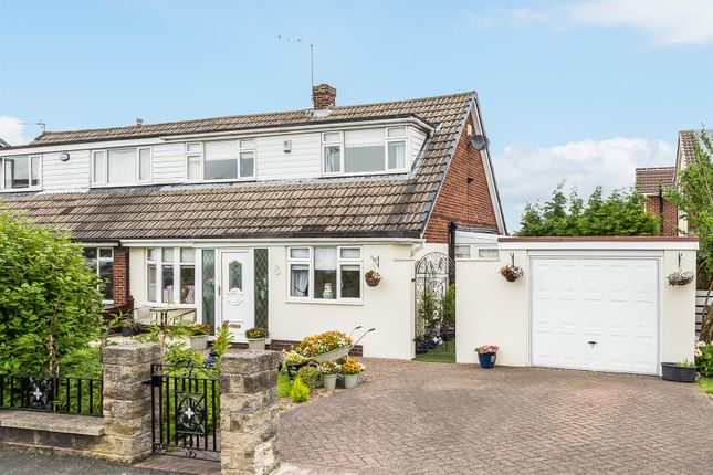 Thumbnail Semi-detached house for sale in Long Meadowgate, Garforth, Leeds