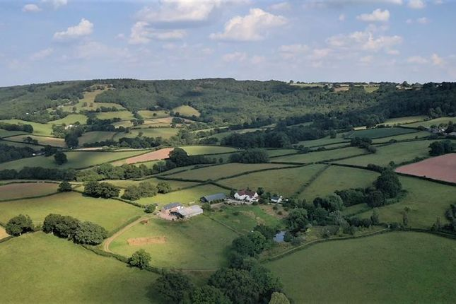 Thumbnail Detached house for sale in Cwmcarvan, Monmouth