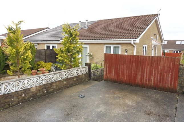 Thumbnail Semi-detached bungalow for sale in Monmouth Drive, Castle Park, Merthyr Tydfil