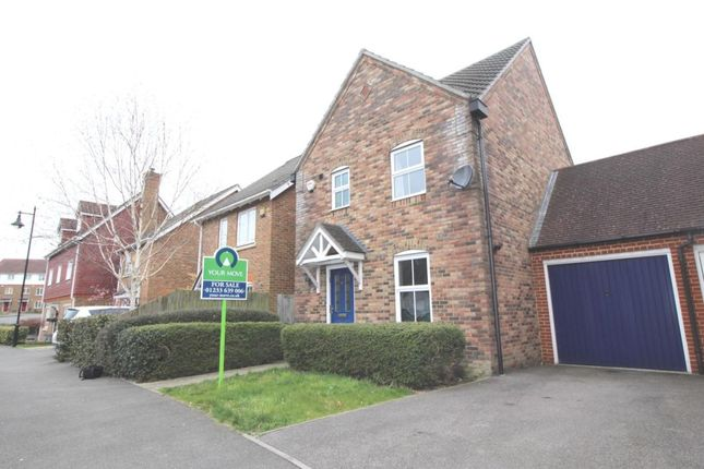 Thumbnail Detached house to rent in Imperial Way, Singleton, Ashford
