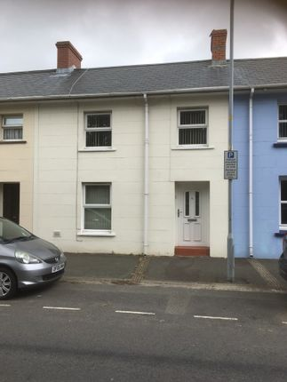 Terraced house to rent in Cambrian Place, Haverfordwest
