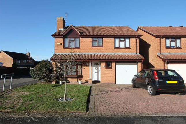 Thumbnail Detached house for sale in Drake Way, Hinckley