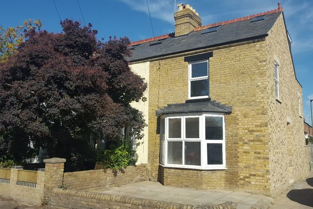 Thumbnail End terrace house to rent in Percy Street, Oxford