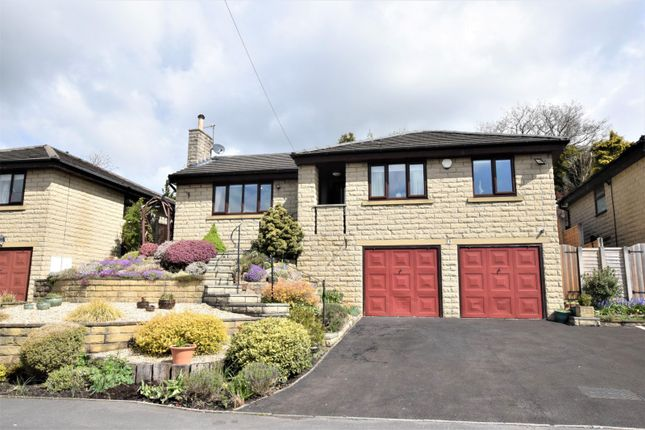Thumbnail Detached bungalow for sale in Ash Grove, Chinley, High Peak