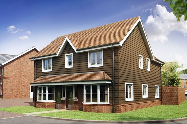 Thumbnail Detached house for sale in Mill Lane, Calcot, Reading
