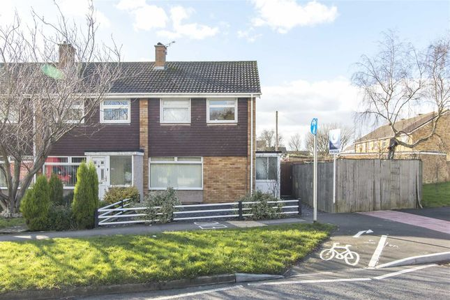 Thumbnail End terrace house for sale in Chalcombe Close, Little Stoke, Bristol