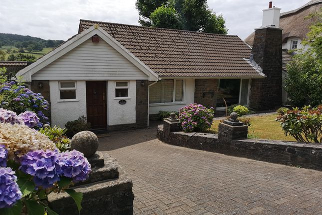 Thumbnail Detached bungalow for sale in White Hart Drive, Machen, Caerphilly