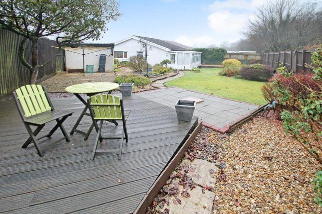 Thumbnail Bungalow for sale in Trenos Gardens, Bryncae, Pontyclun, Rhondda Cynon Taff
