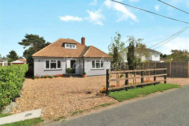 Thumbnail Detached bungalow for sale in Straight Road, Bradfield, Manningtree, Essex