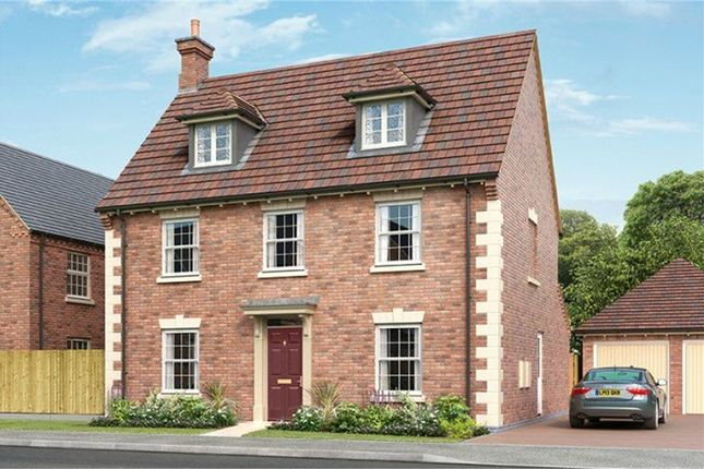 Thumbnail Detached house for sale in Sutton Park, Broughton Astley, Leicester