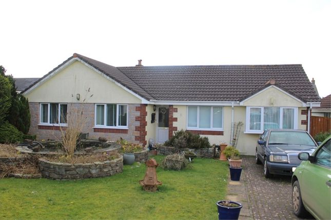 Thumbnail Detached bungalow for sale in Longfield Drive, Camelford, Cornwall