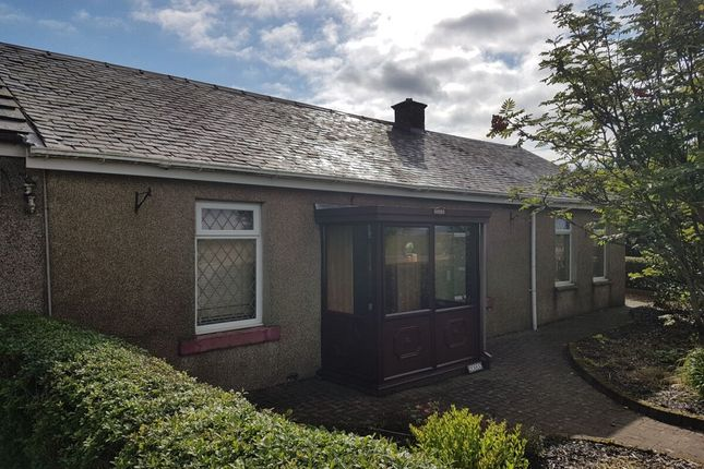 Thumbnail Bungalow for sale in Main Street, Bogside, Wishaw