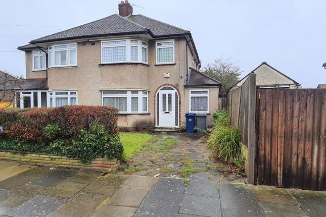 Thumbnail Semi-detached house for sale in Haslemere Avenue, East Barnet