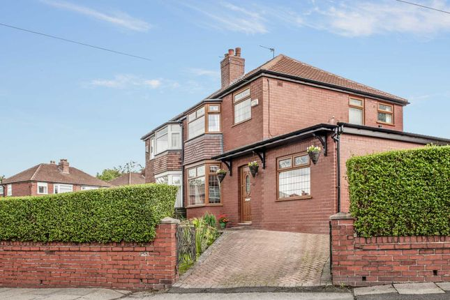 Thumbnail Semi-detached house for sale in Marlborough Road, Hyde