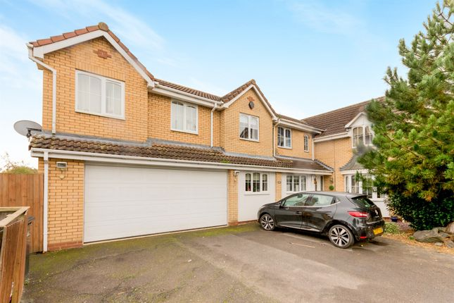 Thumbnail Detached house for sale in Kilverstone, Werrington, Peterborough