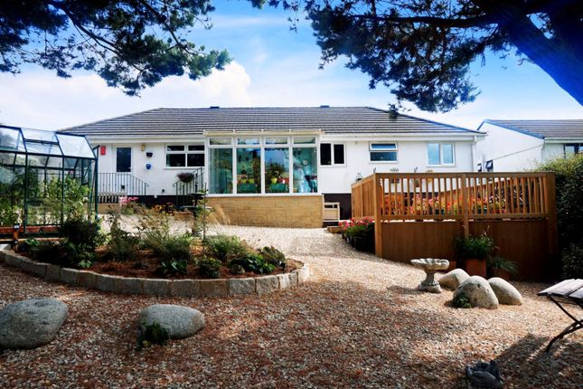 Thumbnail Detached bungalow for sale in Foxdown Manor, Wadebridge