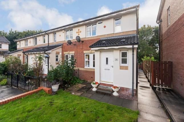 Thumbnail End terrace house for sale in Celtic Street, Glasgow