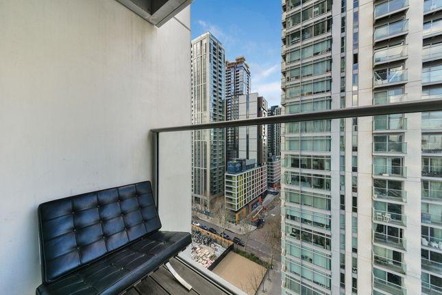 Balcony of East Tower, Pan Peninsula, Canary Wharf E14