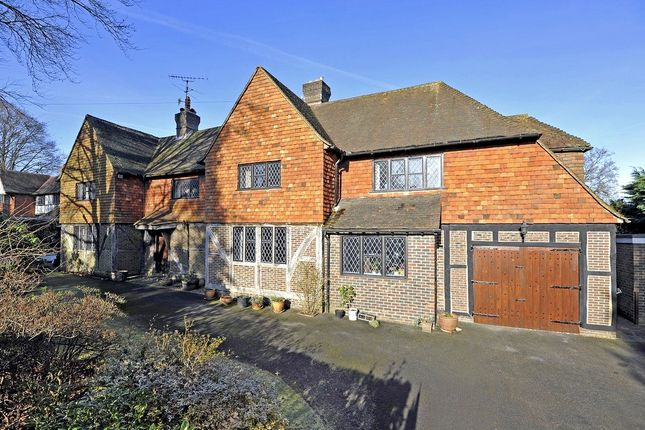 Thumbnail Detached house for sale in Snowdenham Links Road, Bramley, Guildford, Surrey
