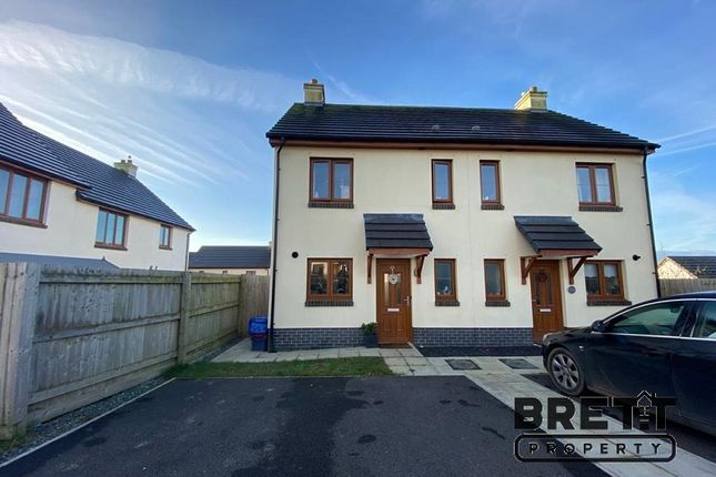 2 bed semi-detached house for sale in Newton Heights, Kilgetty, Pembrokeshire. SA68
