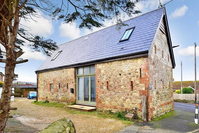 Thumbnail Barn conversion for sale in Church Road, Havenstreet, Isle Of Wight