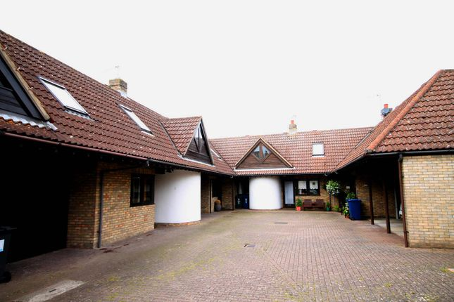 Thumbnail Terraced house for sale in College Farm Court, Fen Drayton