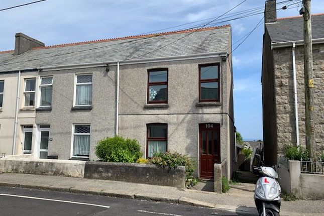 Thumbnail End terrace house for sale in Tregonissey Road, St. Austell
