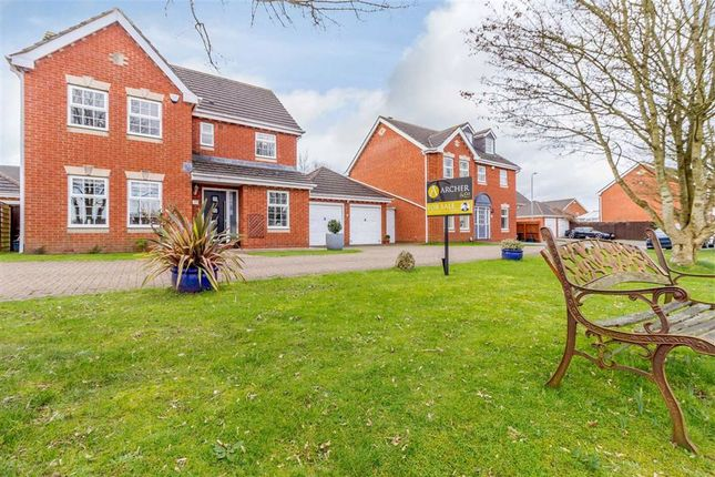 Thumbnail Detached house for sale in Chichester Close, Newport