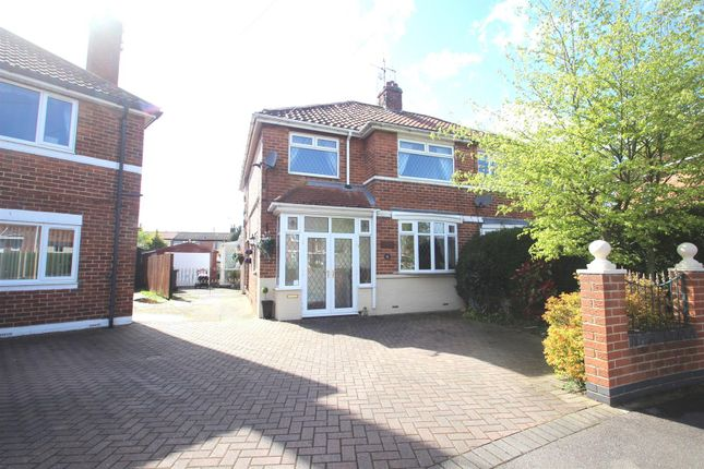 Thumbnail Semi-detached house for sale in Rokeby Park, Hull