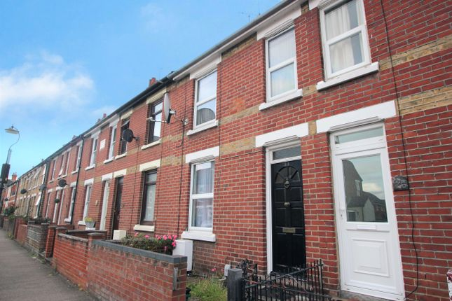 Thumbnail Terraced house to rent in Rebow Street, Colchester