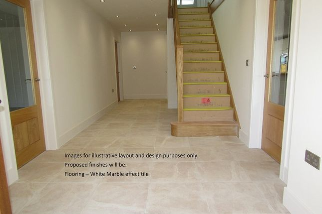 Entrance Hall of Plot 2 The Willows, Bryn Road, Loughor, Swansea, City And County Of Swansea. SA4
