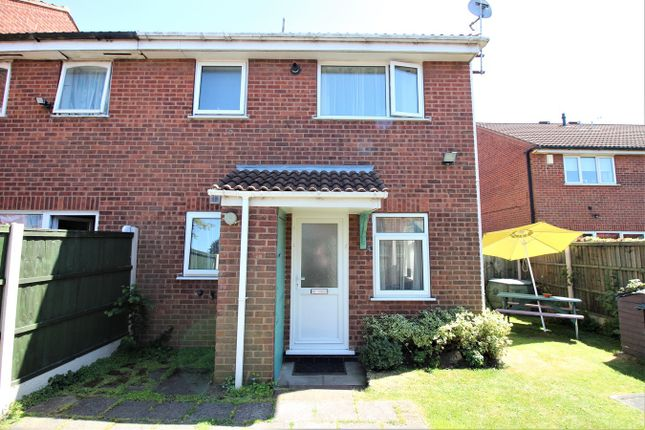 Thumbnail End terrace house for sale in Ashbourne Court, Nottingham