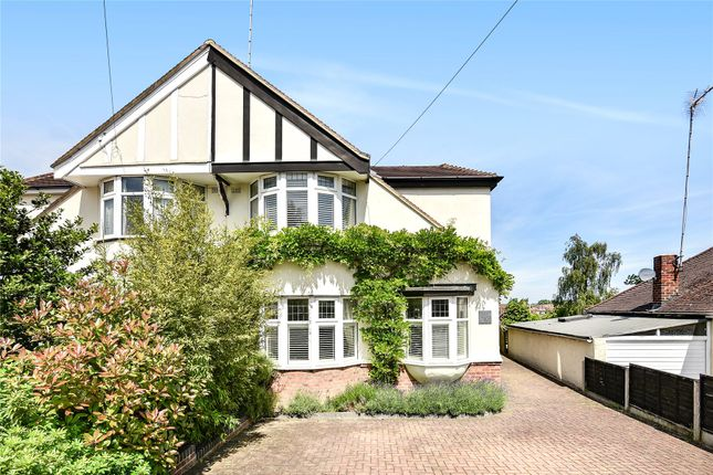 Thumbnail Semi-detached house for sale in Haslemere Avenue, Barnet