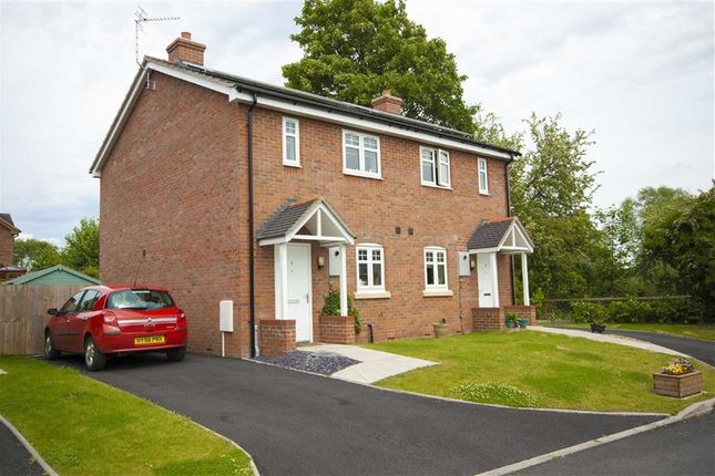 Thumbnail Semi-detached house for sale in Plot 10, Heritage Green, Forden, Welshpool, Powys