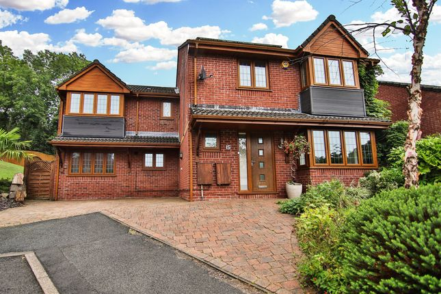 Thumbnail Detached house for sale in Dorallt Close, Henllys, Cwmbran