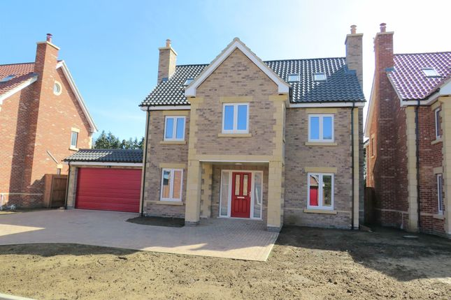 Thumbnail Detached house for sale in Oundle Road, Orton Longueville, Peterborough