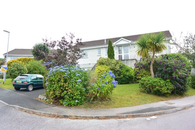 Thumbnail Detached bungalow for sale in Kent Avenue, Carlyon Bay, St. Austell