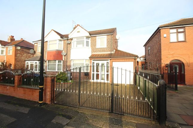 Thumbnail Semi-detached house for sale in Gairloch Avenue, Stretford, Manchester
