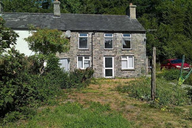 End terrace house for sale in Frondeg, Doldre, Tregaron