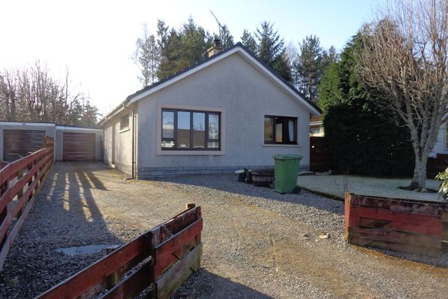 Thumbnail Detached bungalow for sale in 25 Strathspey Drive, Grantown On Spey