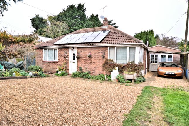 Thumbnail Detached bungalow for sale in Centre Vale, Dersingham, King's Lynn