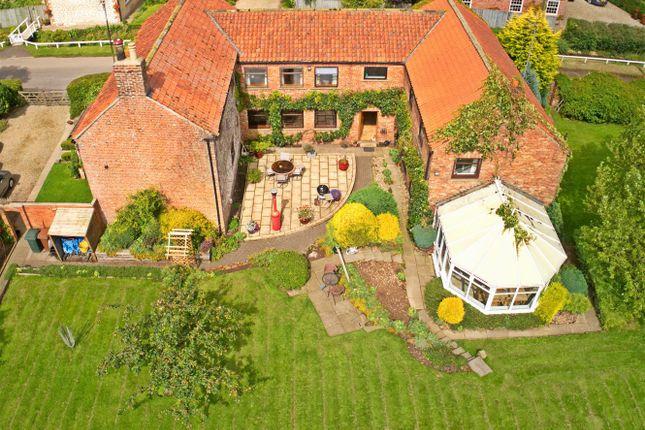 Thumbnail Detached house for sale in Southwold Farmhouse, Duggleby, Malton