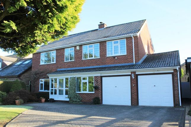 Thumbnail Detached house for sale in Vicarage Gardens, Rouncil Lane, Kenilworth
