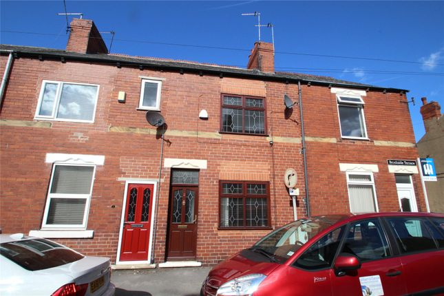 Thumbnail Terraced house to rent in Brookside Terrace, South Elmsall, Pontefract, West Yorkshire