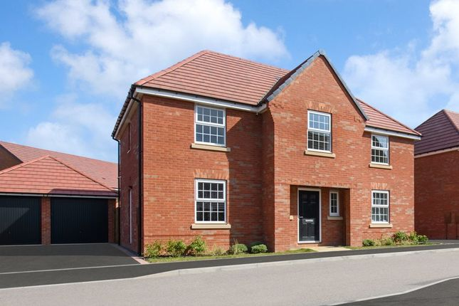 """Thumbnail Detached house for sale in """"Winstone"""" at David Wilson Homes, Ventura Park Road, Bitterscote"""