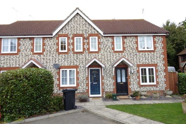 Thumbnail Terraced house for sale in Kingston Chase, Heybridge