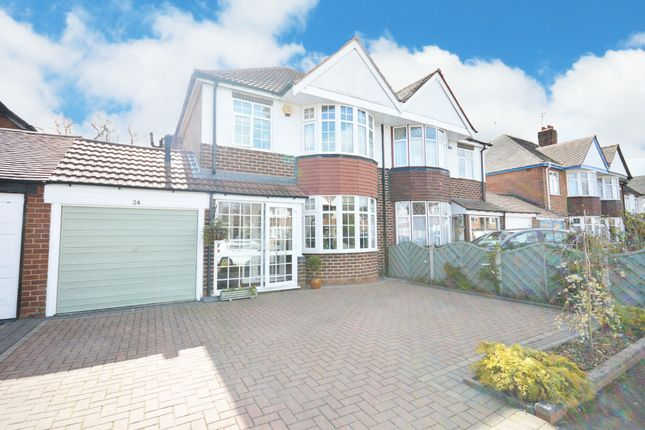 3 bed semi-detached house for sale in Haslucks Croft, Shirley ...