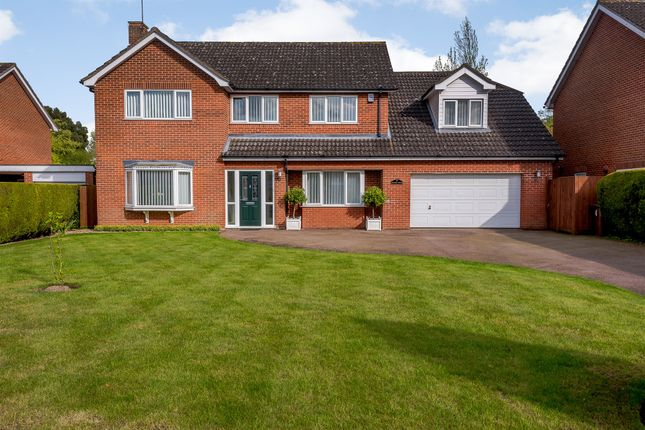 Thumbnail Detached house for sale in Statham Close, Norwich