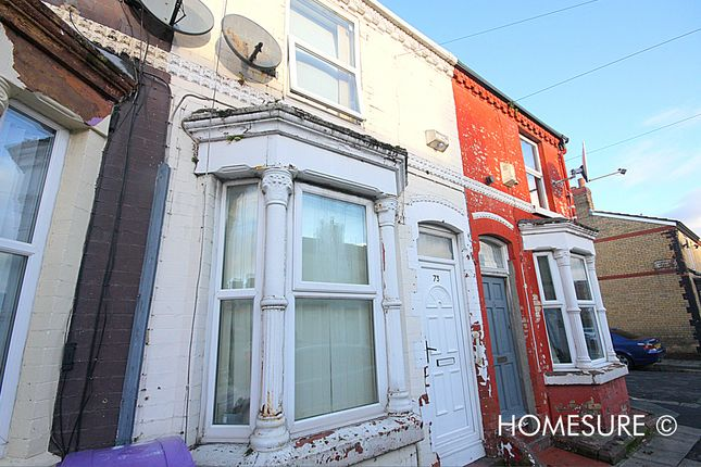 2 bed terraced house for sale in Sunlight Street, Anfield, Liverpool L6
